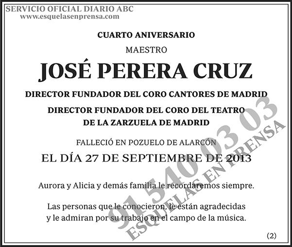 José Perera Cruz